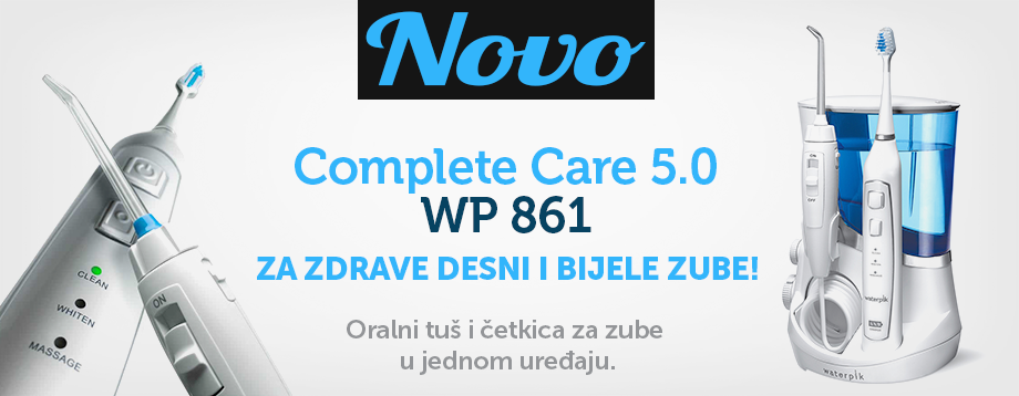 Oralni tuš Complete Care 5.0 wp 861 Waterpik