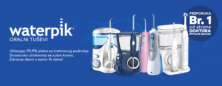 Waterpik oralni tuševi
