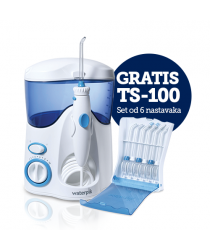 WP-100 Waterpik Ultra + GRATIS TS-100E Set od 6 nastavaka za Waterpik oralne tuševe